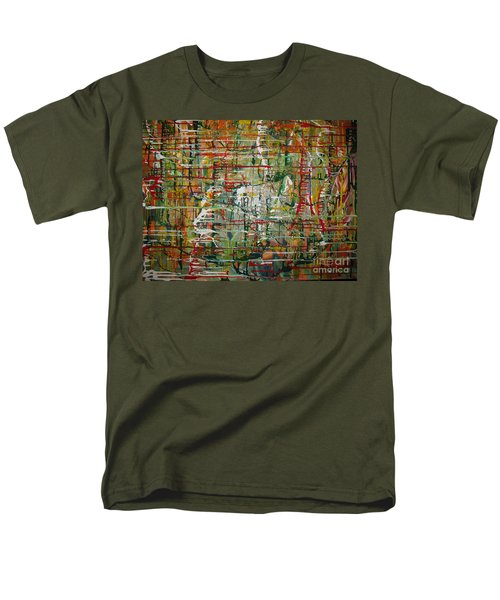 Men's T-Shirt  (Regular Fit) featuring the painting Revelation by Jacqueline Athmann