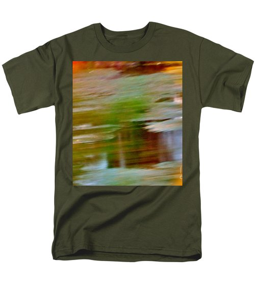 Rice Lake Men's T-Shirt  (Regular Fit) by Patricia Schneider Mitchell