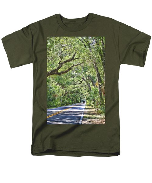 Riding The Ormond Loop Men's T-Shirt  (Regular Fit) by Deborah Benoit