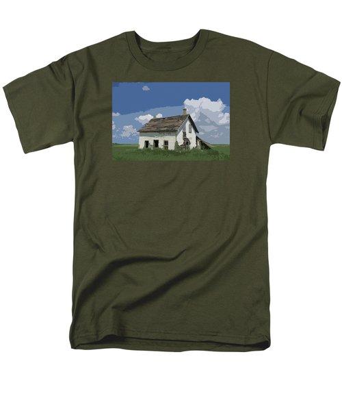 Riel Period Homestead Men's T-Shirt  (Regular Fit) by Ellery Russell