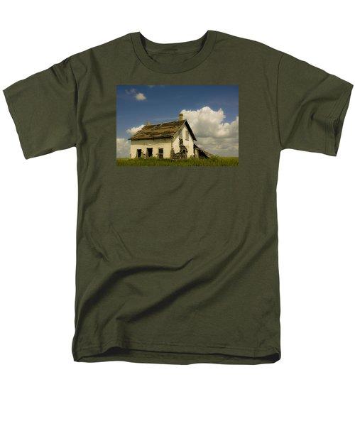Riel Rebellion Period Farm House Men's T-Shirt  (Regular Fit) by Ellery Russell
