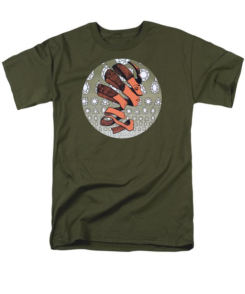 Men's T-Shirt  (Regular Fit) featuring the painting Rind Beauty by Malinda Prudhomme