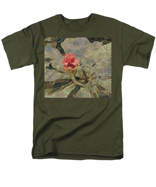 Men's T-Shirt  (Regular Fit) featuring the photograph Ring Around The Posy by Kathie Chicoine