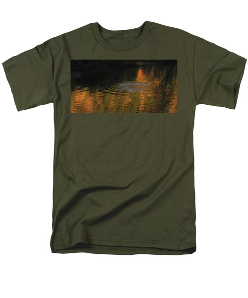 Men's T-Shirt  (Regular Fit) featuring the photograph Rings And Reflections by Suzy Piatt