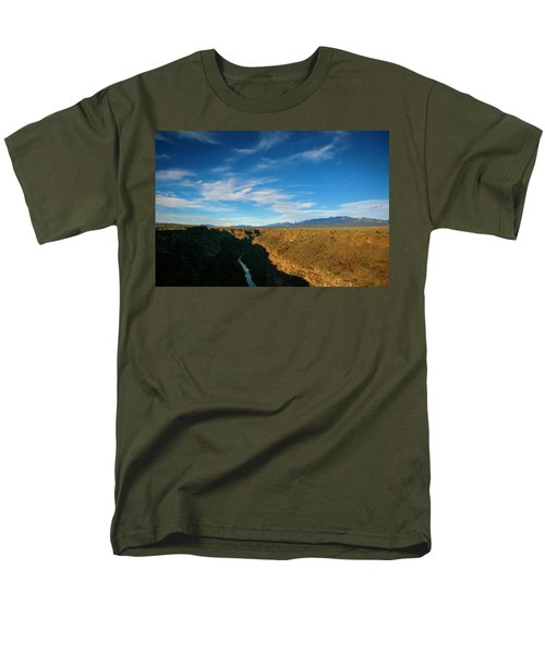 Men's T-Shirt  (Regular Fit) featuring the photograph Rio Grande Gorge Nm by Marilyn Hunt