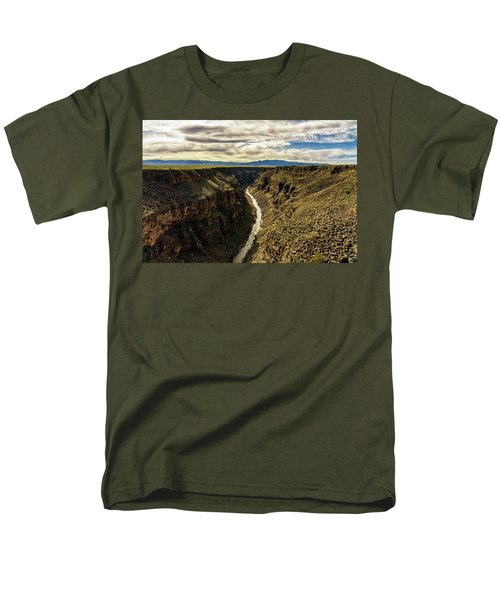 Rio Grande Gorge  Men's T-Shirt  (Regular Fit) by Robert FERD Frank