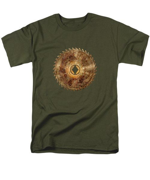 Rip Tooth Sawblade Men's T-Shirt  (Regular Fit) by YoPedro
