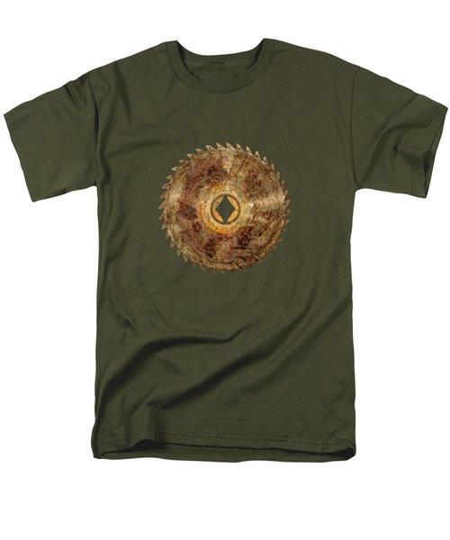 Rip Tooth Sawblade Men's T-Shirt  (Regular Fit)