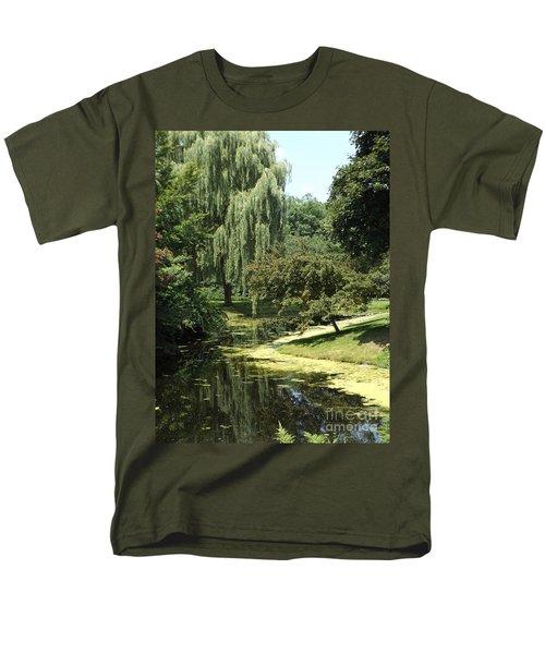 River Flows Through Men's T-Shirt  (Regular Fit) by Erick Schmidt