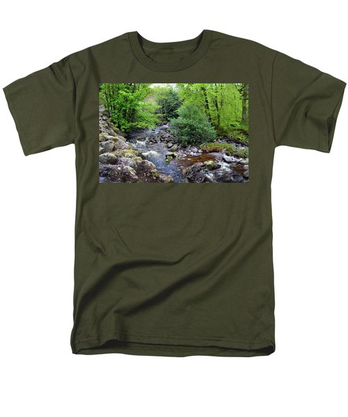 River Mahon Waterford Ireland..jpg Men's T-Shirt  (Regular Fit) by Terence Davis