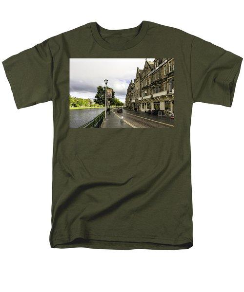 River Ness Men's T-Shirt  (Regular Fit) by Fran Gallogly