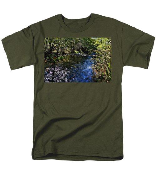 River Of Peace Men's T-Shirt  (Regular Fit) by Glenn McCarthy