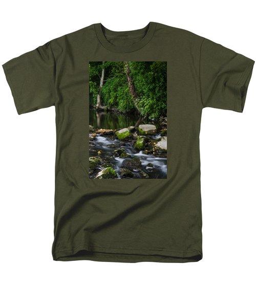 River Tolka Men's T-Shirt  (Regular Fit) by Martina Fagan