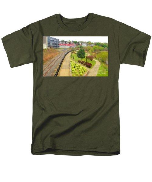 Rivers Edge Living   Men's T-Shirt  (Regular Fit) by Christina Verdgeline