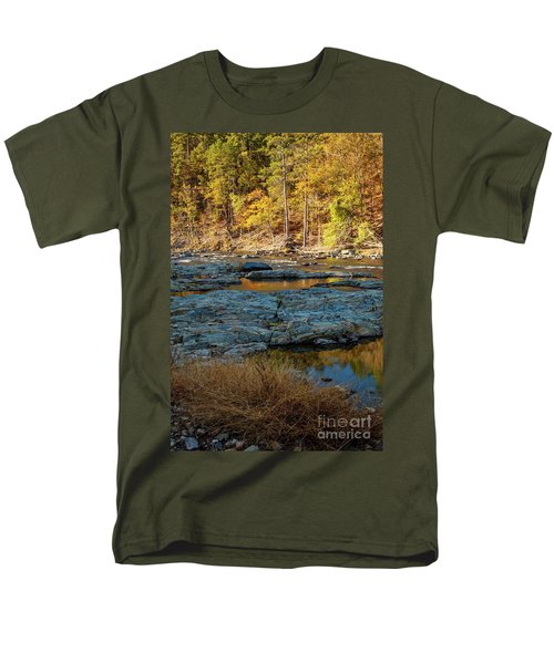 Men's T-Shirt  (Regular Fit) featuring the photograph Riverside by Iris Greenwell