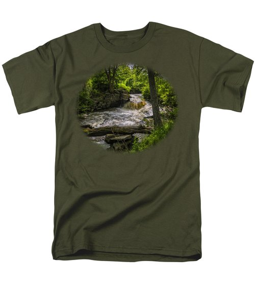 Riverside Men's T-Shirt  (Regular Fit) by Mark Myhaver