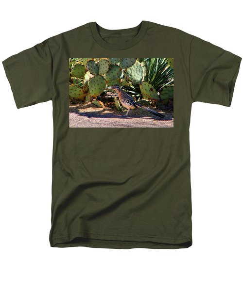 Roadrunner Men's T-Shirt  (Regular Fit) by Kathryn Meyer