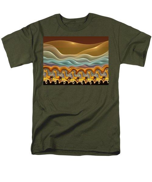 Roadrunner Races Men's T-Shirt  (Regular Fit) by Amorina Ashton