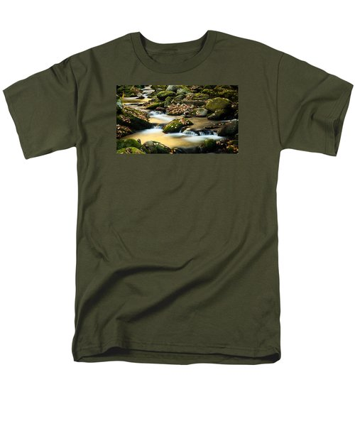 Men's T-Shirt  (Regular Fit) featuring the photograph Roaring Fork River by Monte Stevens