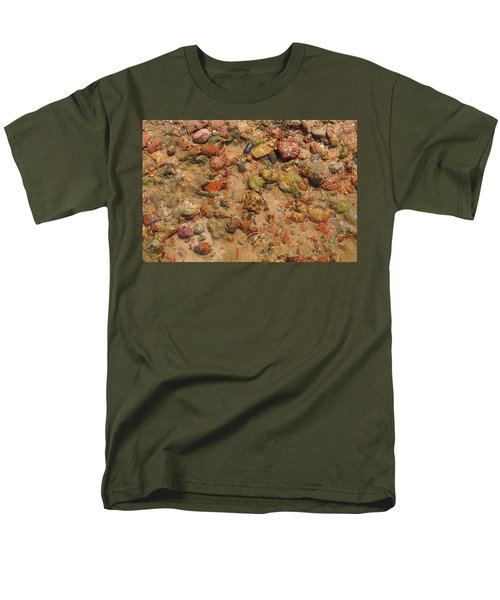 Men's T-Shirt  (Regular Fit) featuring the photograph Rocky Beach 5 by Nicola Nobile
