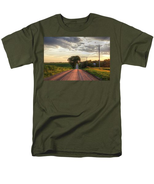 Rolling Down A Country Road Men's T-Shirt  (Regular Fit) by Karen McKenzie McAdoo