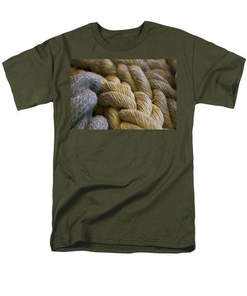 Rope  Men's T-Shirt  (Regular Fit) by Henri Irizarri