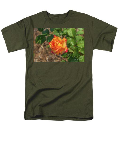 Men's T-Shirt  (Regular Fit) featuring the photograph Rosa Peace by Jim Lepard