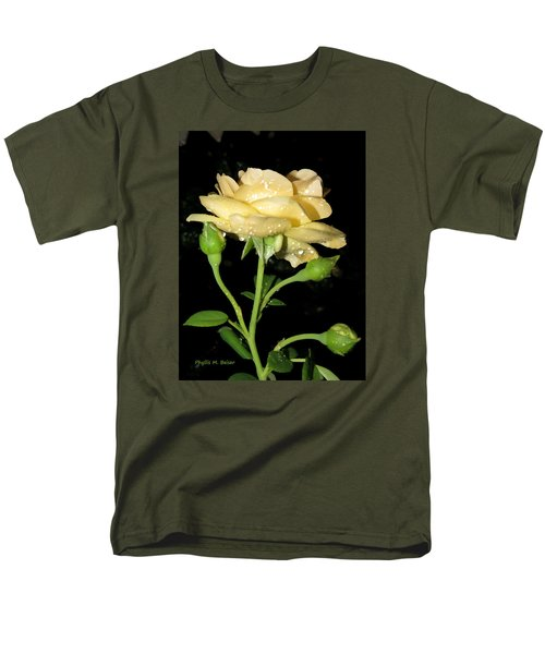 Men's T-Shirt  (Regular Fit) featuring the photograph Rose 2 by Phyllis Beiser