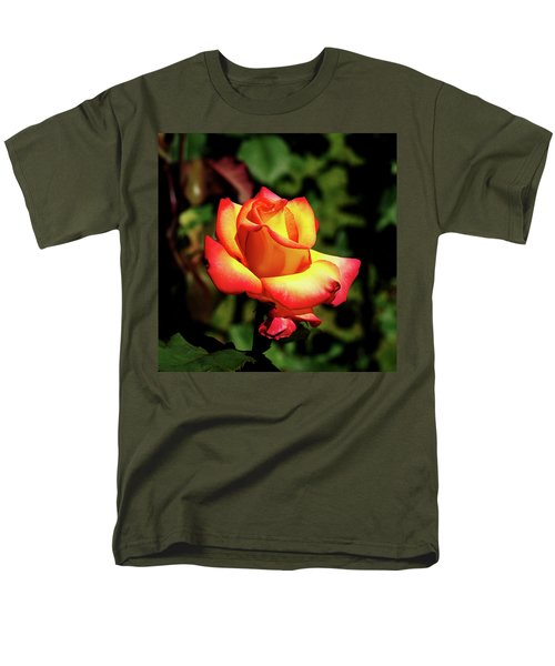 Rose To Remember Men's T-Shirt  (Regular Fit) by Dale Stillman