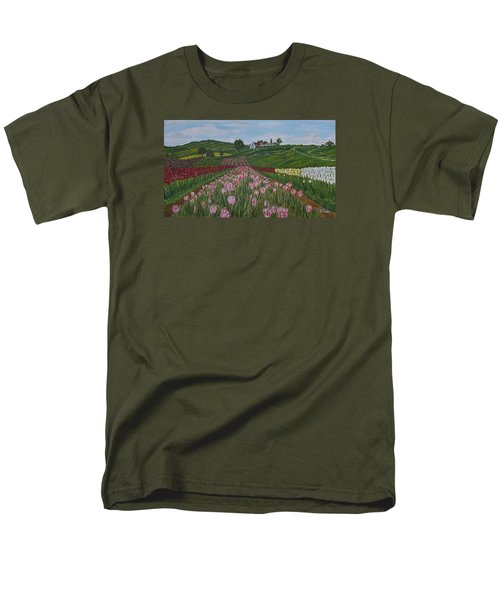 Walking In Paradise Men's T-Shirt  (Regular Fit) by Felicia Tica