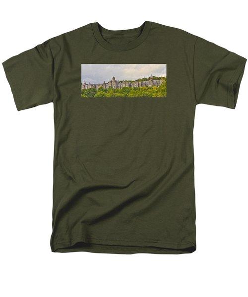 Rows Men's T-Shirt  (Regular Fit)