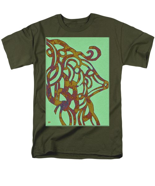 Royal Sheep Cut Out Men's T-Shirt  (Regular Fit) by Patricia Cleasby