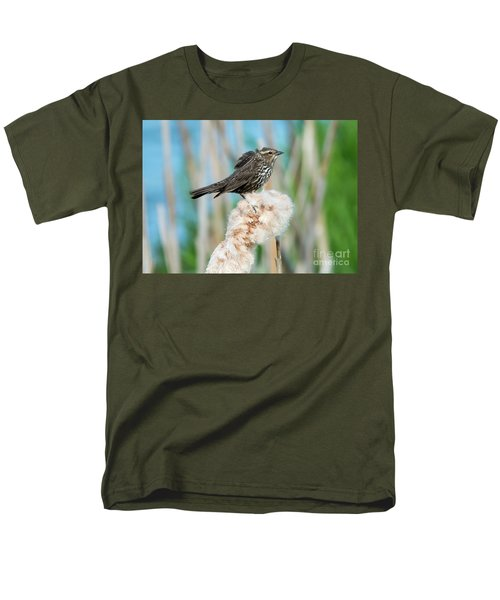 Ruffled Feathers Men's T-Shirt  (Regular Fit) by Mike Dawson