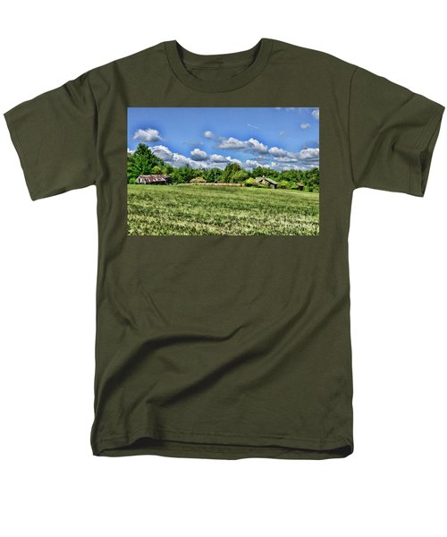 Rural Virginia Men's T-Shirt  (Regular Fit) by Paul Ward