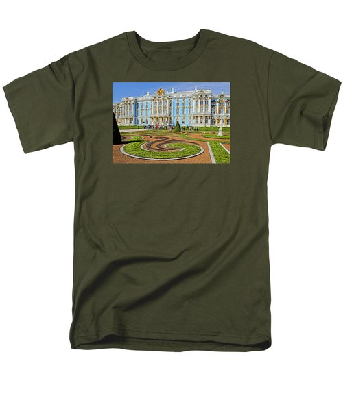 Men's T-Shirt  (Regular Fit) featuring the photograph Russian Palace by Dennis Cox WorldViews