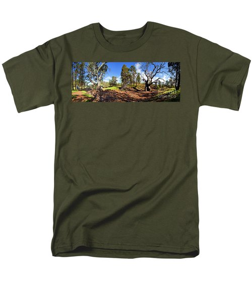 Men's T-Shirt  (Regular Fit) featuring the photograph Sacred Canyon, Flinders Ranges by Bill Robinson