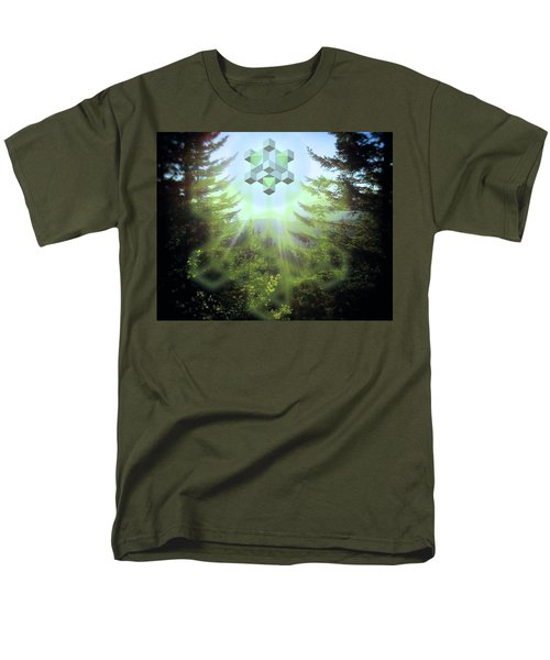 Sacred Forest Event Men's T-Shirt  (Regular Fit) by Milton Thompson