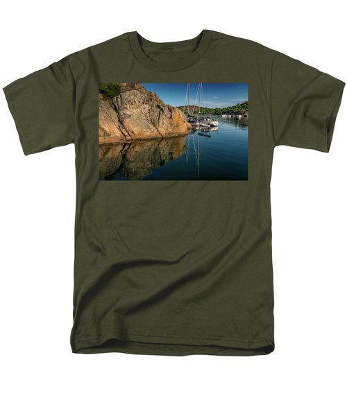 Sailing In Sweden Men's T-Shirt  (Regular Fit) by Martina Thompson