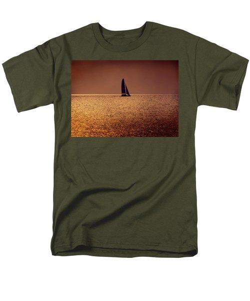 Sailing Men's T-Shirt  (Regular Fit) by Steven Sparks