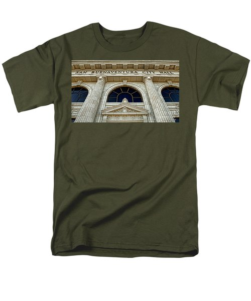 San Buenaventura City Hall Men's T-Shirt  (Regular Fit)