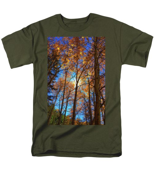 Men's T-Shirt  (Regular Fit) featuring the photograph Santa Fe Beauty II by Stephen Anderson