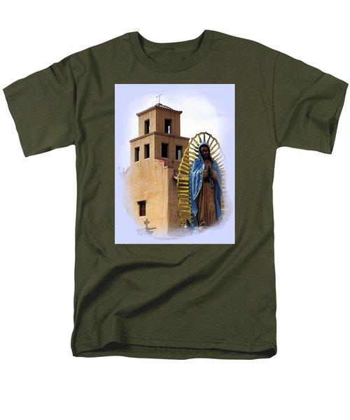 Men's T-Shirt  (Regular Fit) featuring the photograph Santuario De Guadalupe Santa Fe New Mexico by Kurt Van Wagner