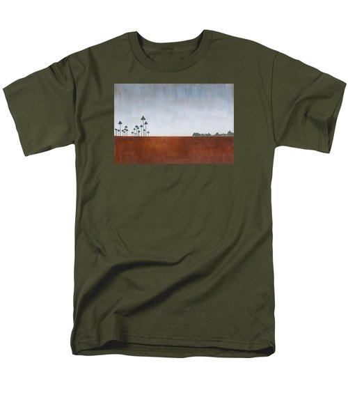 Savannah Landscape Everglades Men's T-Shirt  (Regular Fit) by Rich Franco
