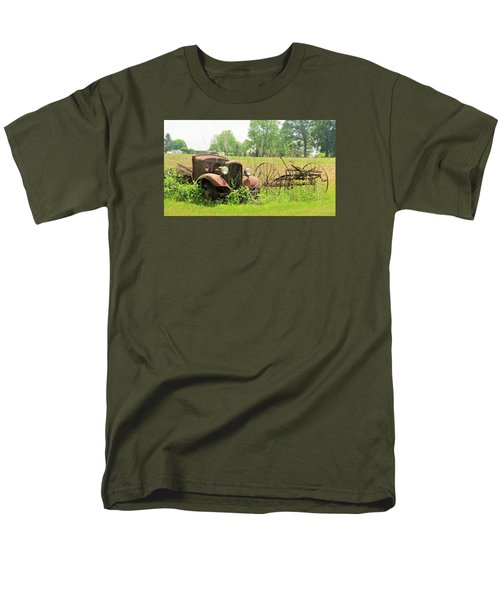 Saw Better Days Men's T-Shirt  (Regular Fit) by Jeanette Oberholtzer