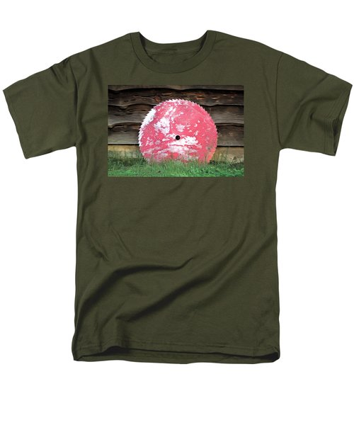 Men's T-Shirt  (Regular Fit) featuring the photograph Saw Blade by Marion Johnson