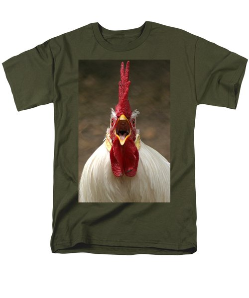Say Ahh Men's T-Shirt  (Regular Fit) by Living Color Photography Lorraine Lynch