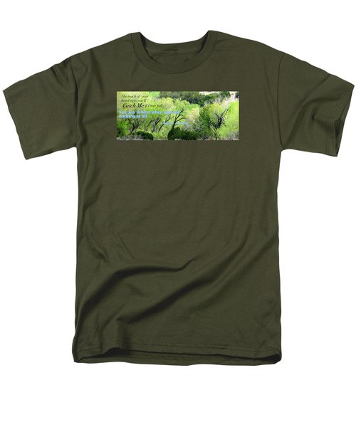Men's T-Shirt  (Regular Fit) featuring the photograph Say Nothing by David Norman