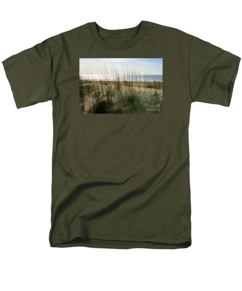Scene From Hilton Head Island Men's T-Shirt  (Regular Fit) by Angela Rath
