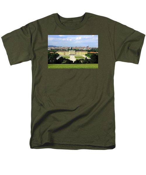 Schloss Schoenbrunn, Vienna Men's T-Shirt  (Regular Fit) by Christian Slanec