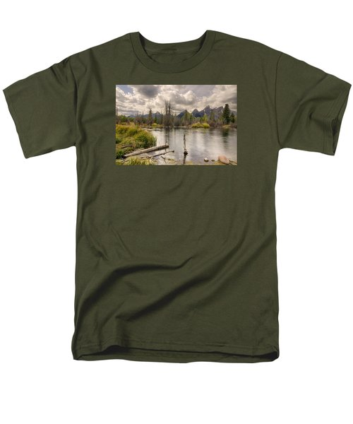 Schwabachers Landing Men's T-Shirt  (Regular Fit) by John Gilbert